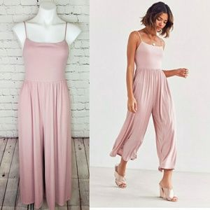 UO Silence+Noise sleeveless flowy jumpsuit
